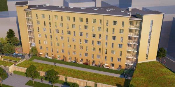 Nysatsning från Riksbyggen i Täby