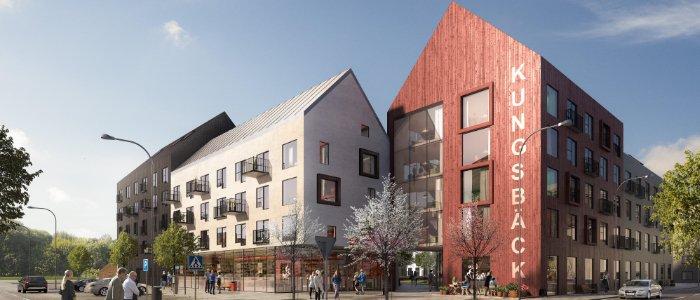 K2A byggstartar projekt i Gävle