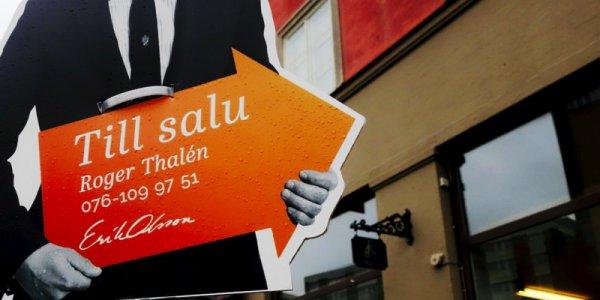 Fortsatt prisfall på borätter i Stockholm