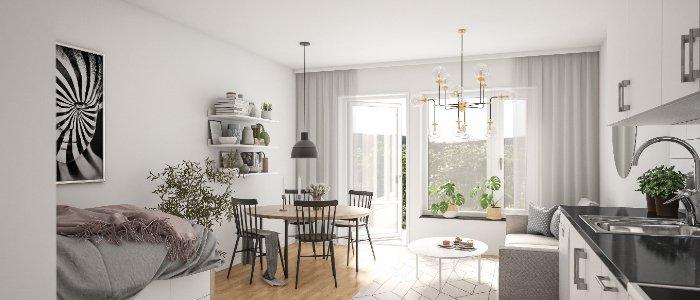 70 nya lägenheter till Örnsköldsvik