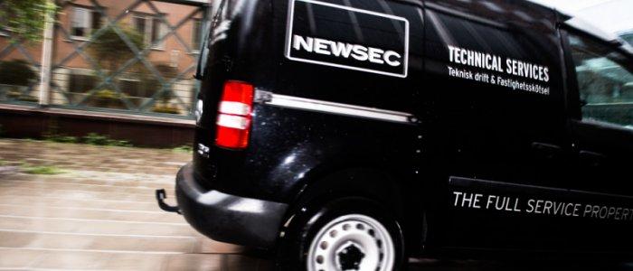 Newsec säkerställer hyresavtal
