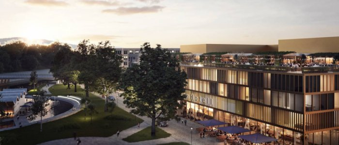 Här bygger Serneke nytt hotell