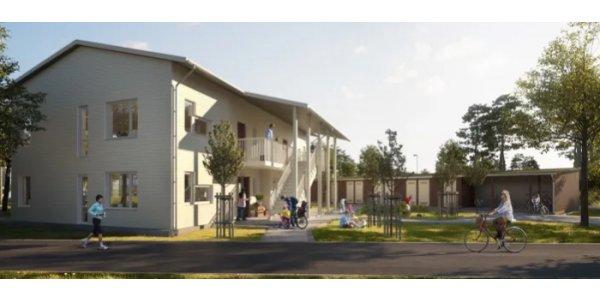 Riksbyggen bygger 40 nya bostadsrätter