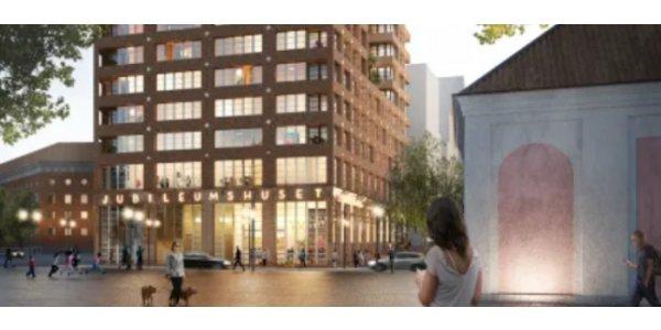 24 våningar högt hus till Stockholm