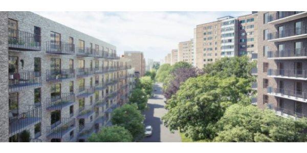 Veidekke bygger 130 lägenheter i Gbg