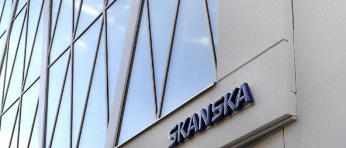 Skanska-aktien rasar efter svag rapport