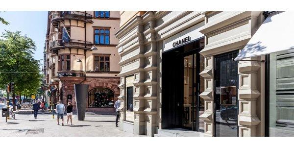 Lyxmärket utökar butik i Stockholm