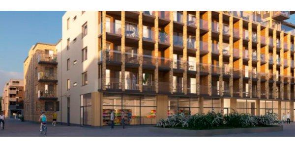 Riksbyggens nya bostäder i Kungälv