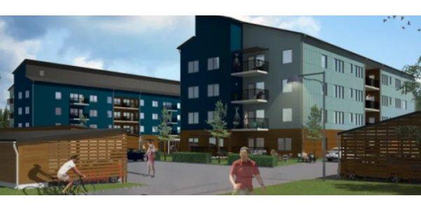 Nytt bostadsbygge för Lindbäcks