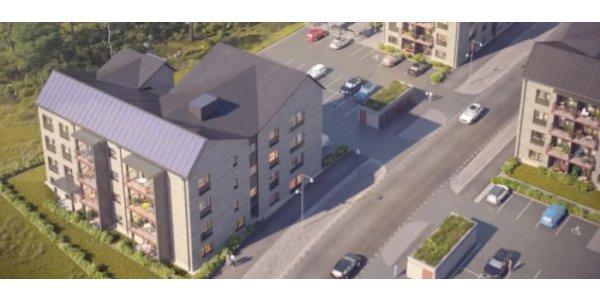 HSB byggstartar 44 lägenheter