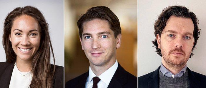 Logicenters rekryterar trio