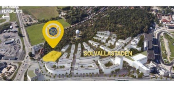 HSB bygger i Solvallastaden
