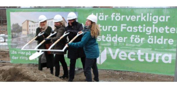 Vectura tar första spadtag i Knivsta