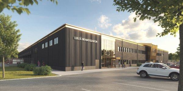 NCC bygger brandstation i Luleå