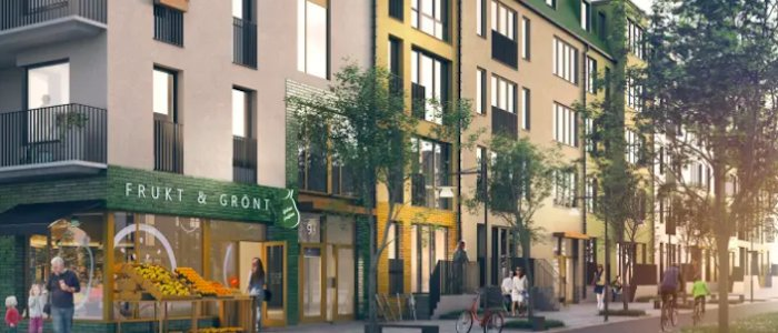 Stena bygger nytt – 500 bostäder till Sthlm