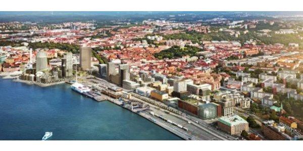 Första spadtag för ny Gbg-stadsdel