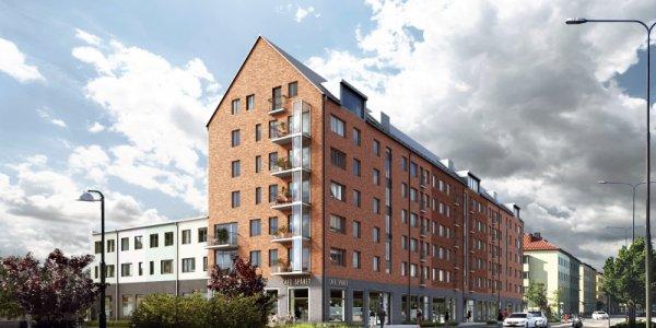 Nytt bygge för 100-miljoner i Malmö