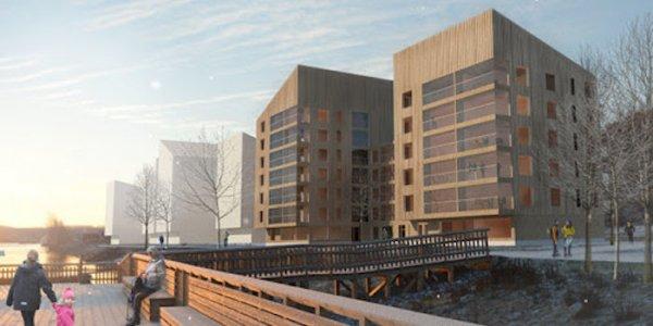 HSB bygger nytt i Ö-vik