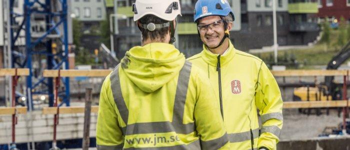 Här bygger JM 300 nya bostäder
