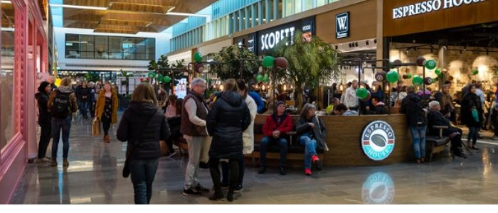 Succé för västsvenska köpcentret