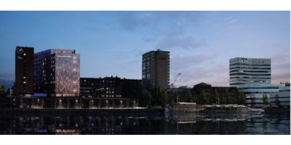 De bygger Diös nya hotellprojekt