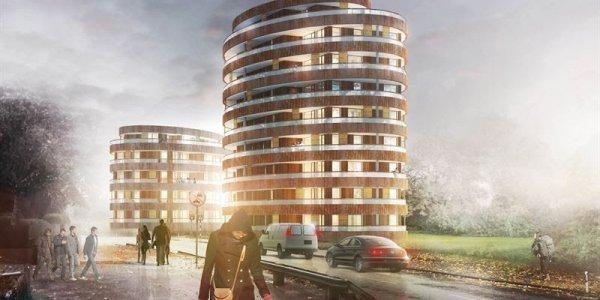 Här är NCC:s nya Ystad-bygge