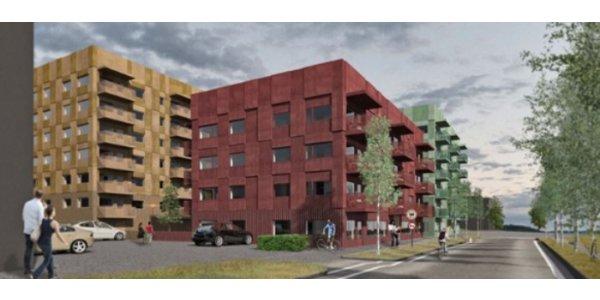 Här är Diös nya bostadsbygge