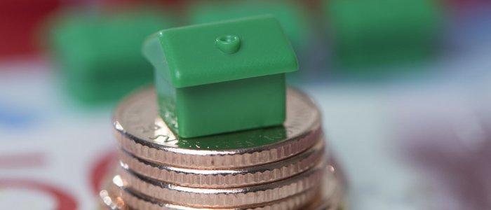 Huspriserna en procent högre