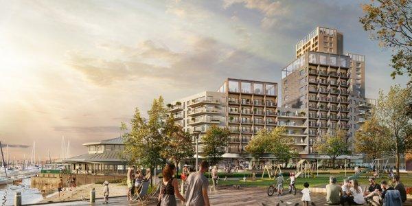 Här utvecklar Citycon bostäder i VG-regionen