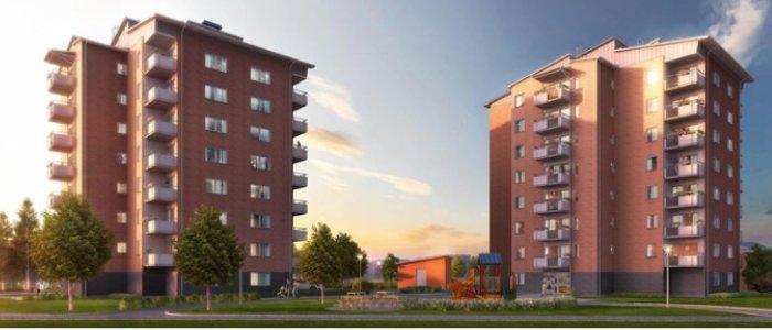 NCC bygger 225 lägenheter