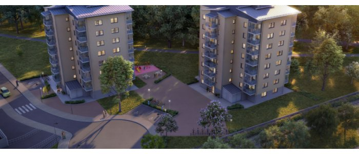 Kommunal bostadssuccé i Sundsvall