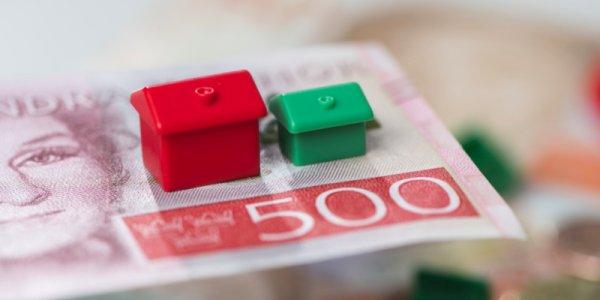 Bopriserna stiger – om än sakta