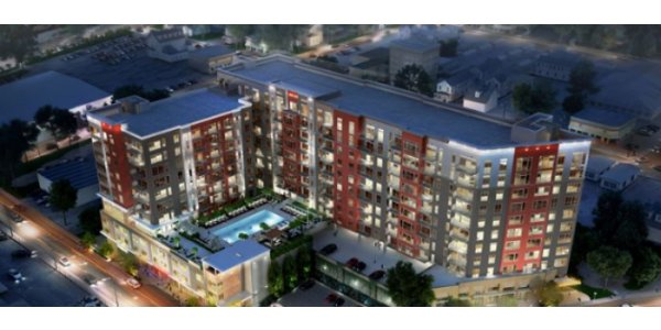 Skanskas nya bostadsbygge – 41 600 kvm