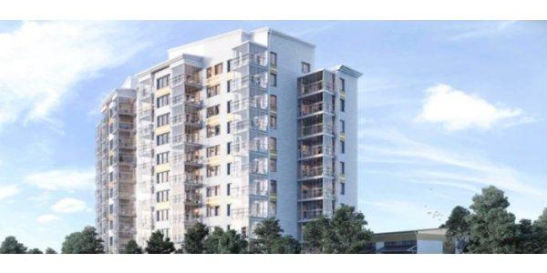 Här bygger NCC 76 nya lägenheter