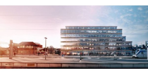 NCC bygger Sveriges största kontor i trä