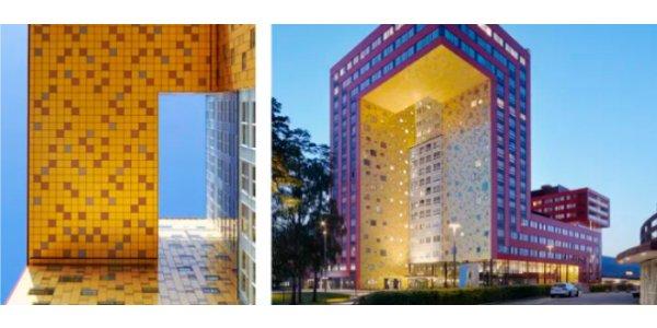Iconisk Växjö-byggnad nominerad till byggnadspris
