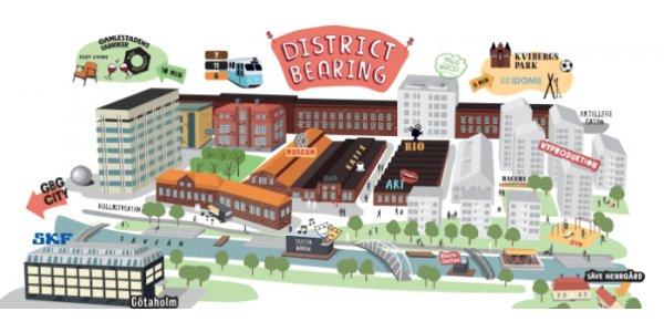Stena och SKF skapar ny Gbg-stadsdel