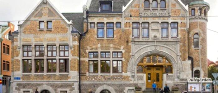 Klassisk Gbg-byggnad renoveras