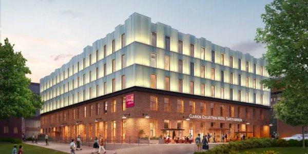 Nordic Choice Hotels hotellprojekt i Sickla växer