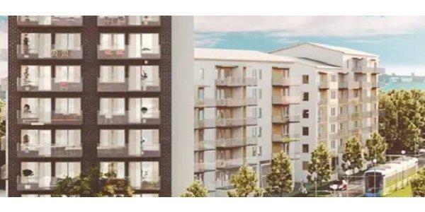 Grönt ljus för nya Veidekke-bostäder