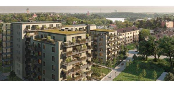 Aros Bostad bygger nytt i Danderyd