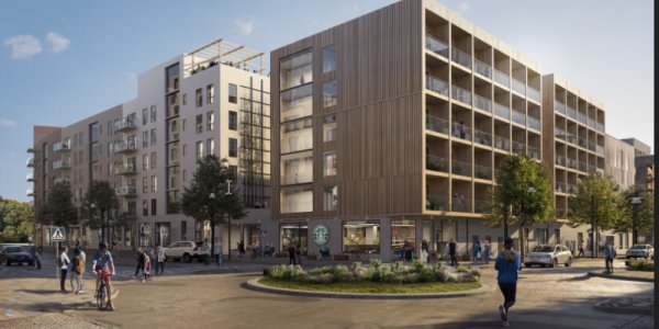 K2A bygger nytt i Stockholm