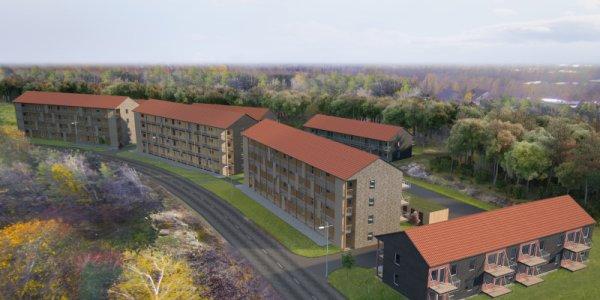 NREP:s nya boprojekt ska lyfta Salem