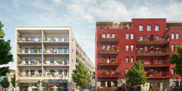 Nu byggs bostäder i Barkarbystaden