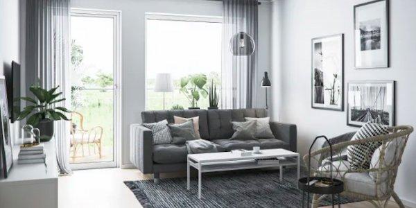 Här bygger BoKlok sina nya bostäder