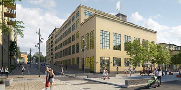 Ansiktslyft för anrik byggnad i Hammarby sjöstad