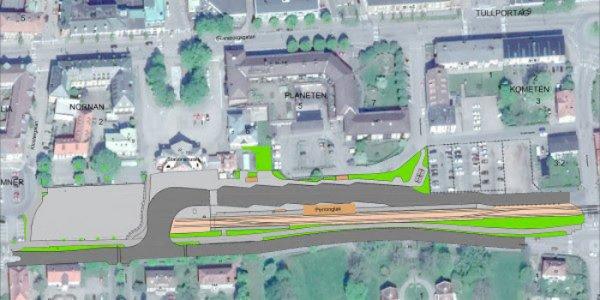 Byggstart på nytt stationsområde