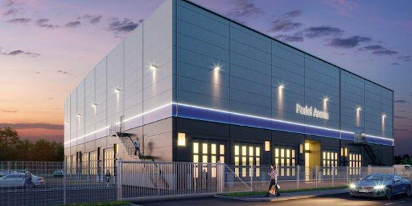 Ny sportanläggning byggs av Titania i Stockholm
