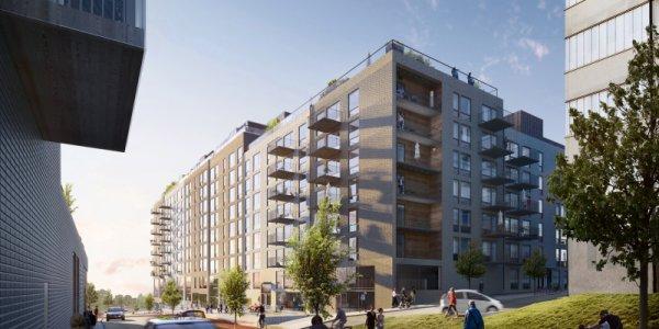 Här bygger Skanska nya bostäder i Gbg