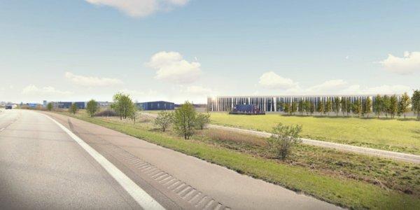 Ny logistikanläggning till Helsingborg